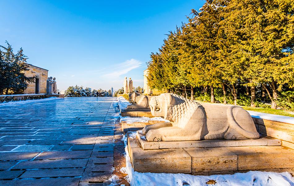 Ankara Anıtkabir Aslanlı Yol