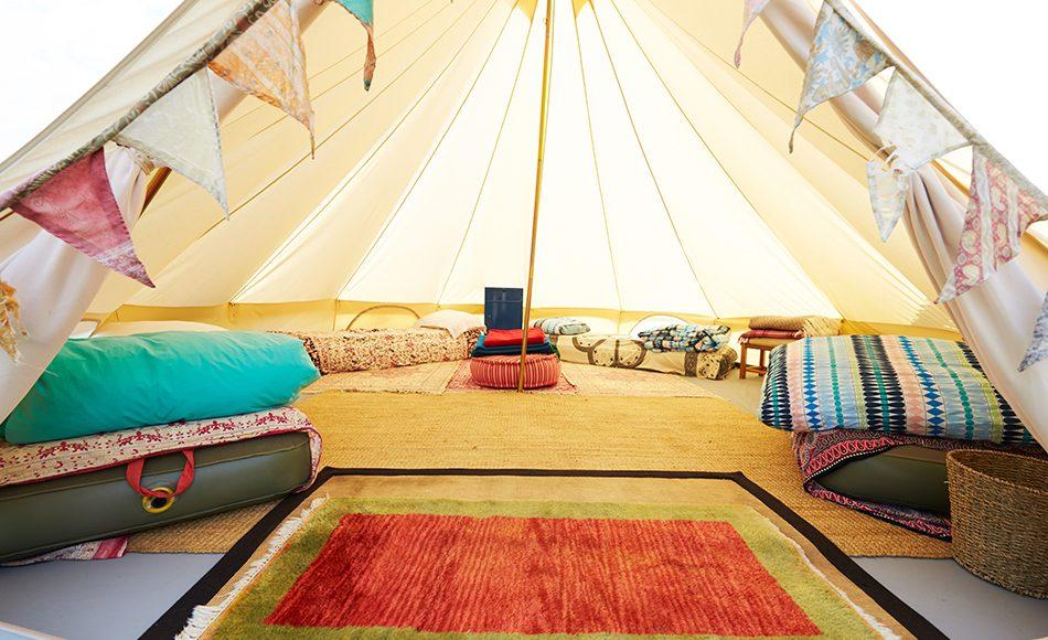 Çadır için Tulum veya Şişme Yatak