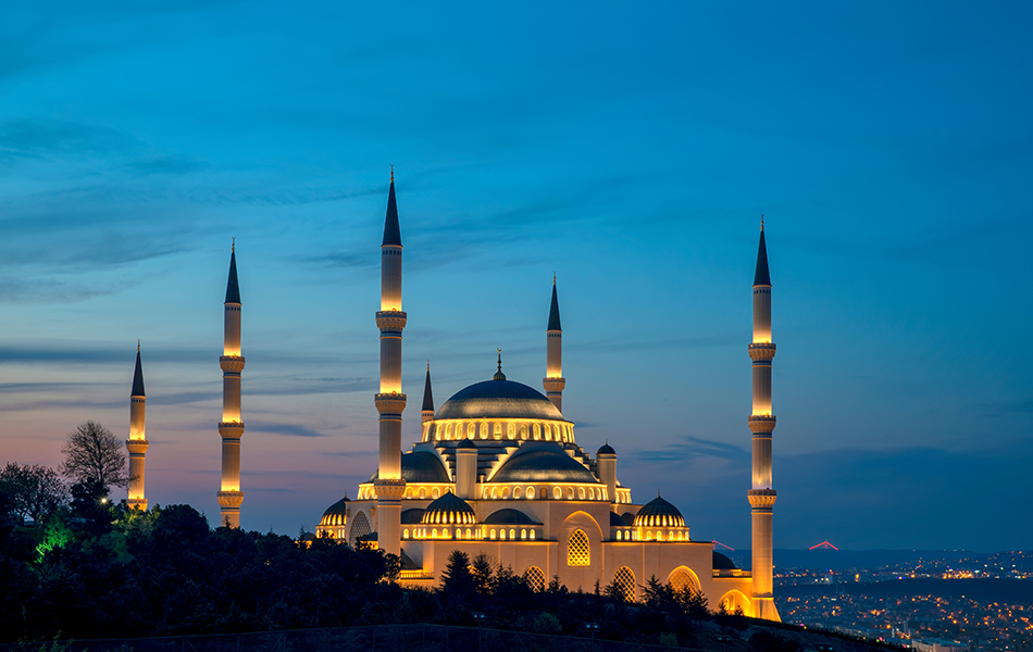 İstanbul Büyük Çamlıca Tepesi