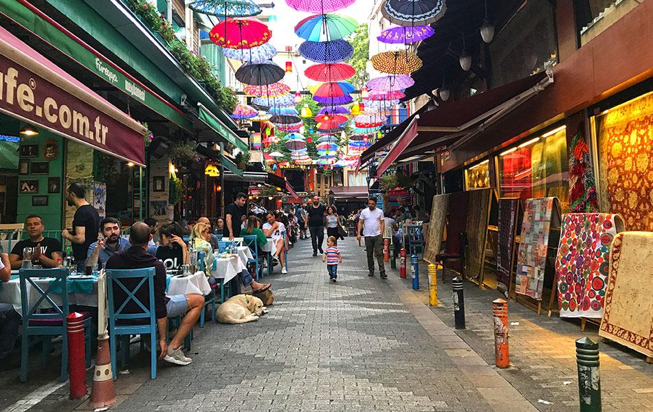 İstanbul Kadıköy Çarşısı