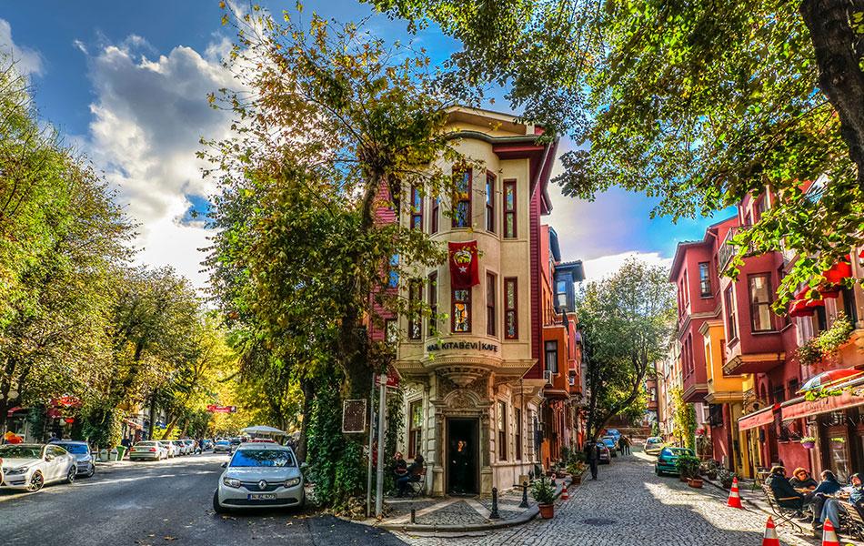 İstanbul Kuzguncuk Sokakları