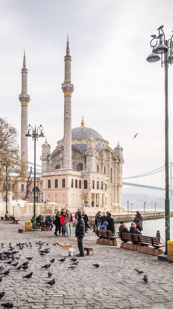 İstanbul Ortaköy Meydanı