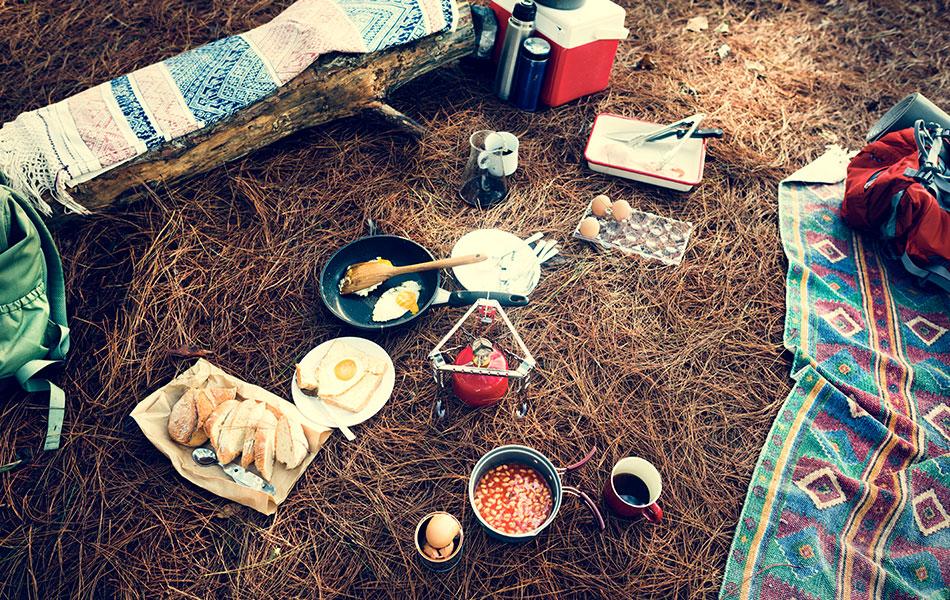 Kamp için Yemek Alışverişi Nasıl Olmalı