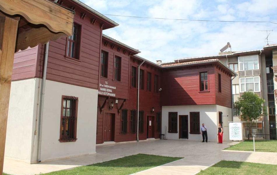 Namık Kemal Kütüphanesi