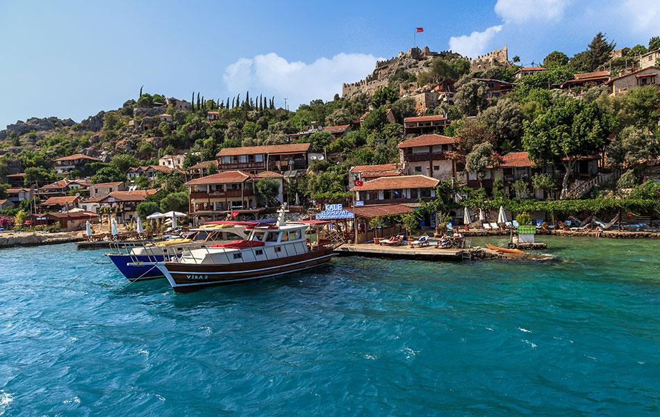 Antalya Demre Gezilecek Yerler