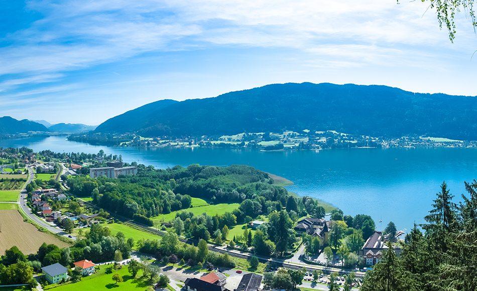Avusturya Ossiach Gölü
