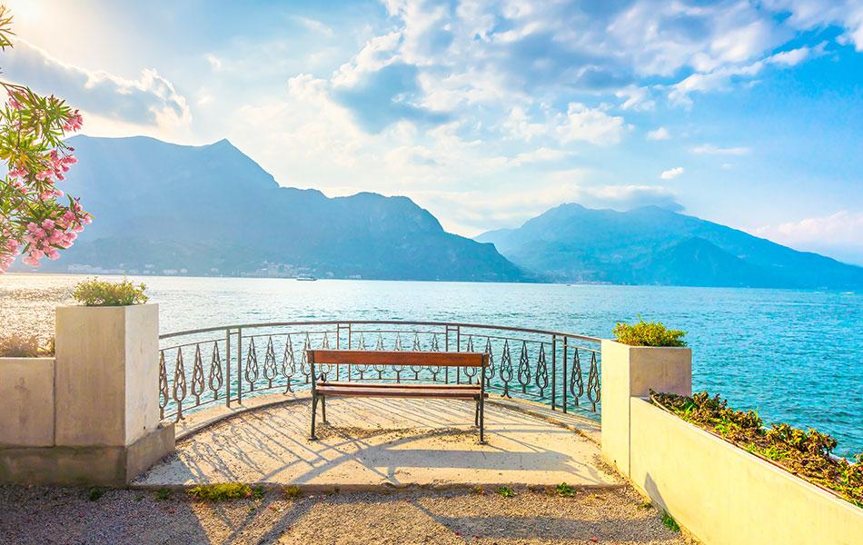 İtalya Como Gölü