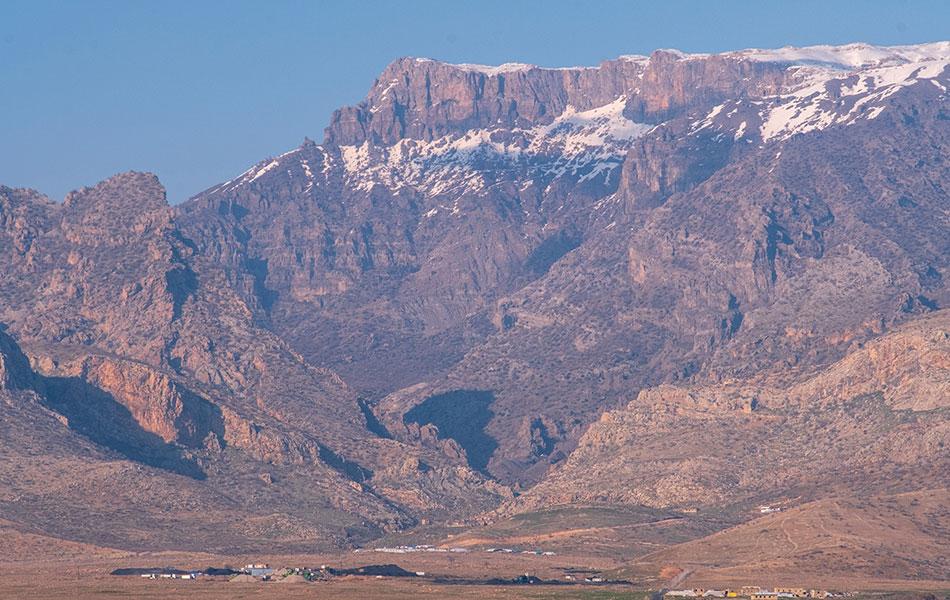 Şırnak Cudi Dağı