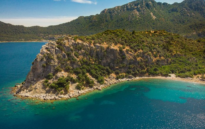 Amos Koyu Plajı - Marmaris