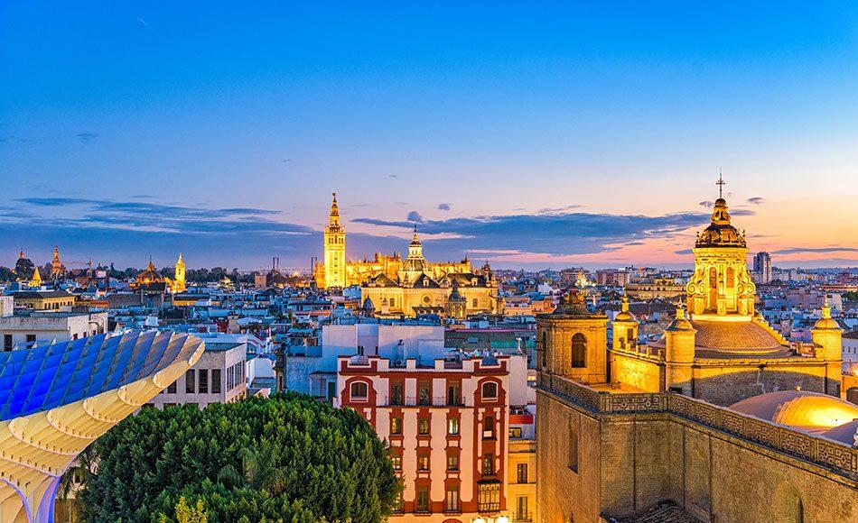 Avrupa Şehri İspanya Sevilla