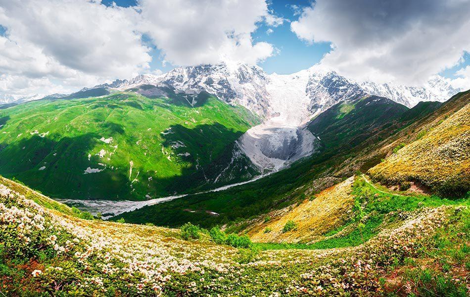 Rusya Kuzey Kafkasya Dağları