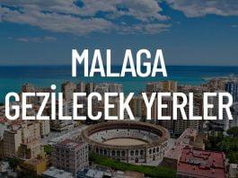 Malaga Gezilecek Yerler
